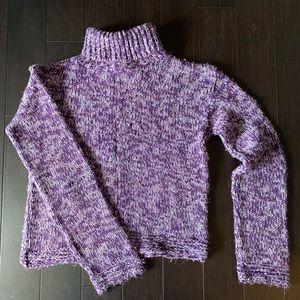 [Arizona] chunky turtleneck crop sweater